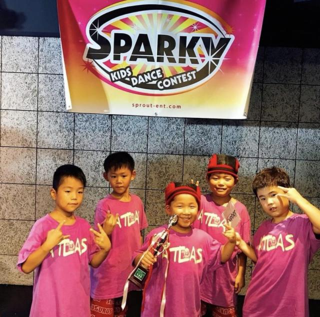 SPARKY KIDS DANCE CONTEST